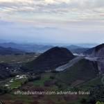 On the road to Mai Chau, motorbike ride