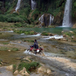 Ban Gioc waterfalls motorcycle tours