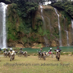 Ban Gioc waterfalls motorbike tours